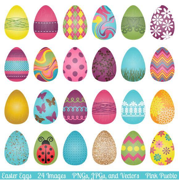 Easter Eggs Clipart Clip Art And Vectors