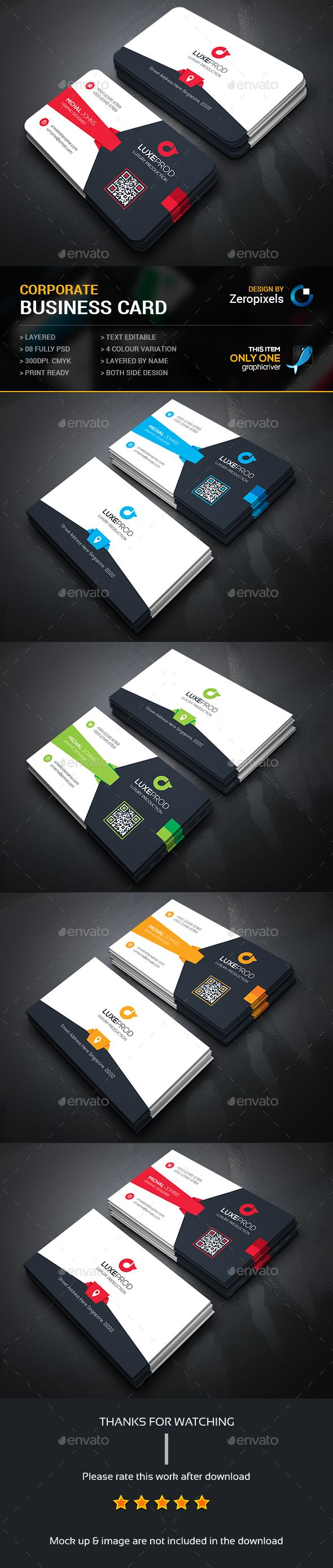 102 best business card design images on pinterest business card buy corporate business card by zeropixels on graphicriver features easy customizable and editable business card in with bleed cmyk color design in 300 dpi reheart Image collections