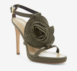 Giuseppe Zanotti Design Green And Brown Sandal