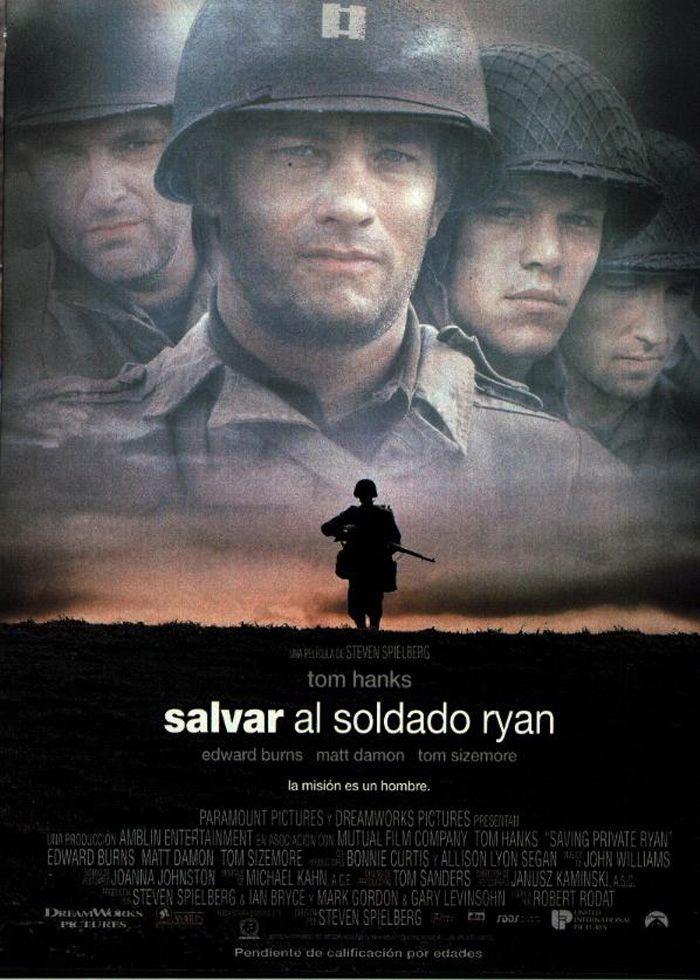 Salvar al soldado Ryan (1998) EEUU. Dir: Steven Spielberg. Bélico. II Guerra Mundial - DVD CINE 1204