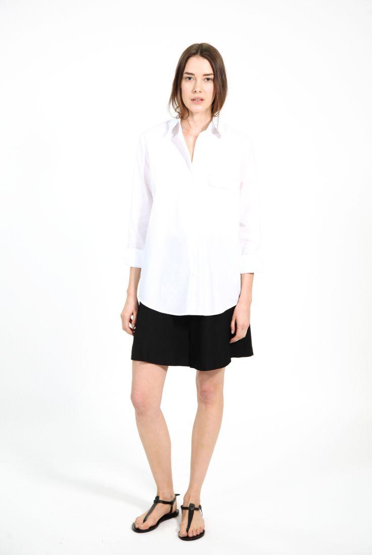 Viper Shirt White by Acne Studios