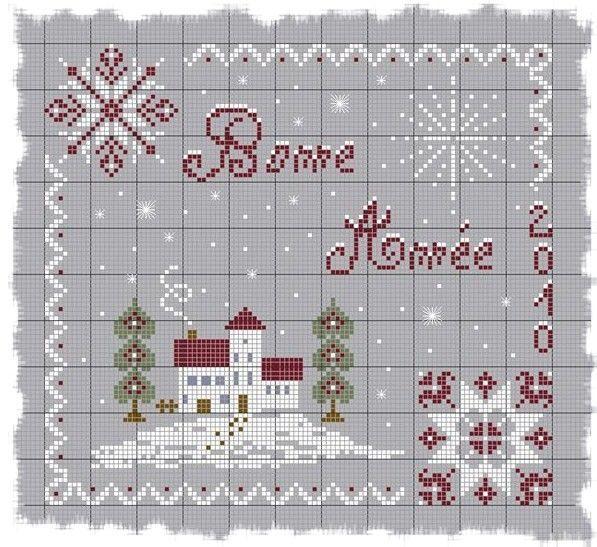 Point de croix *<3* Cross stitch - Christmas