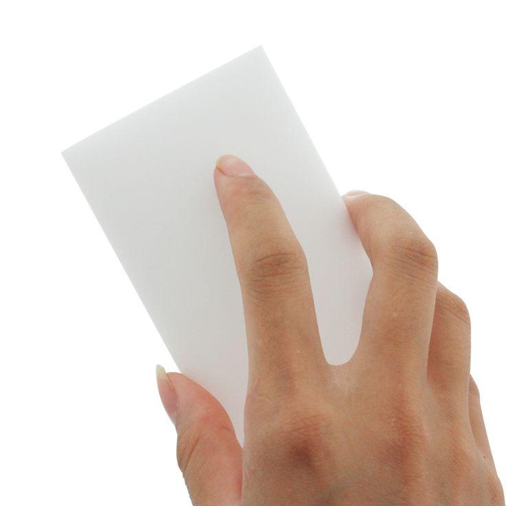 100 pcs/lot White Magic Sponge Eraser Melamine Cleaner,multi-functional Cleaning 100x60x20mm Wholesale & Retial