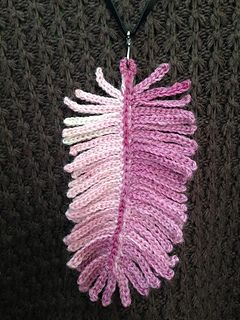 I first saw this pendant in the Creative Crochet Crew – The Group. People were talking about it and some of us were trying to figure out how did the designer make it. The designer wrote briefly what she does on her blog but she has no pattern written up. So I asked her if she wouldn't mind I use her idea in my design and write up a pattern. To my surprise she say yes. Thanks Regina Rioux for the inspiration. See Regina and her fabulous creations on her blog in this link ...