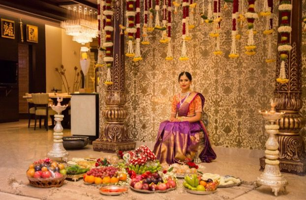 Beautiful bridal decoration