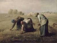 """""""Las espigadoras"""", Millet. Año 1857, museo de Orsay."""