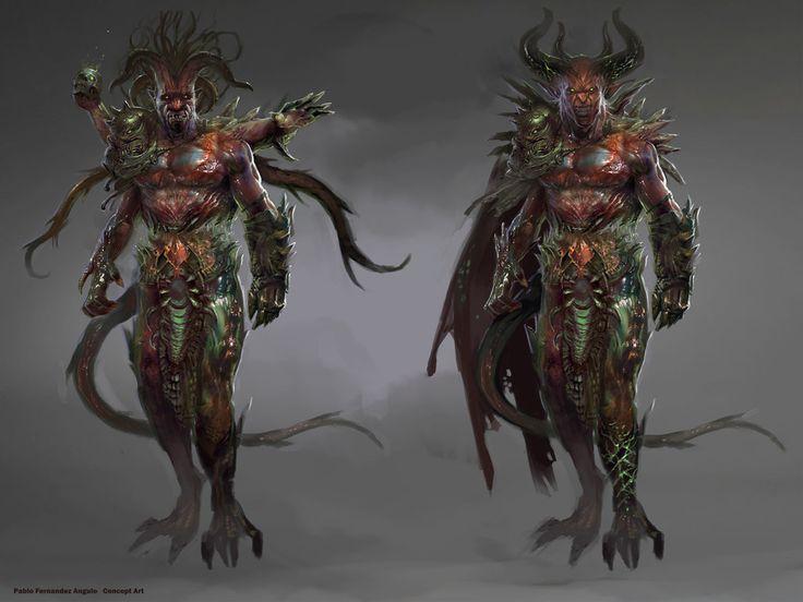 Creature And Character Design Book : Http pablofernandezartwrk viantart art demon