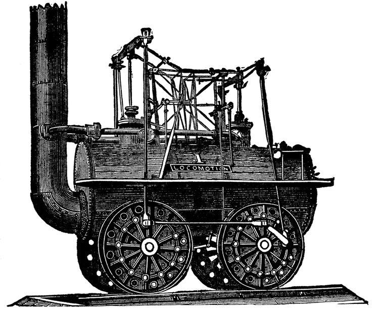 earliest trains | George Stephenson's First Locomotive