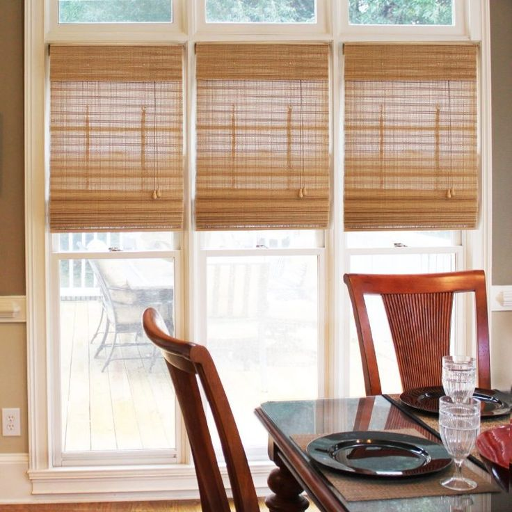 Best 25 Bamboo Roman Shades Ideas On Pinterest Window Treatments Living Room Curtains