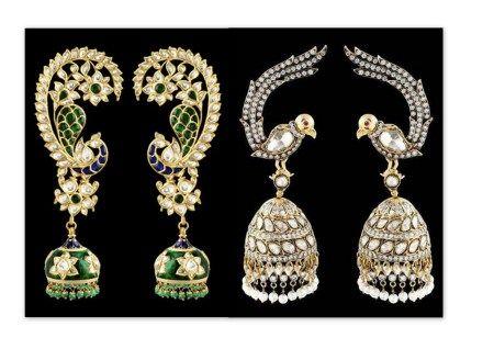 Jewelry inspired by Animal forms. Sunita Shekhawat jewellery