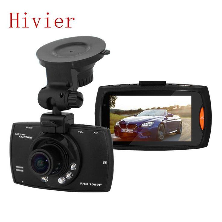 """Full HD 2.7 """"LCD 1080 P Asli G30 Kamera Night Vision Mobil DVR Dash cam Kendaraan Bepergian Tanggal Perekam Tachograph mini 500 Mega"""