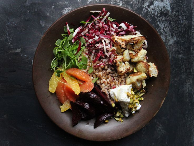 How to Build a Great Grain bowl From Whatever Is In Your Fridge by saveur #Salad #Grain #Healthy