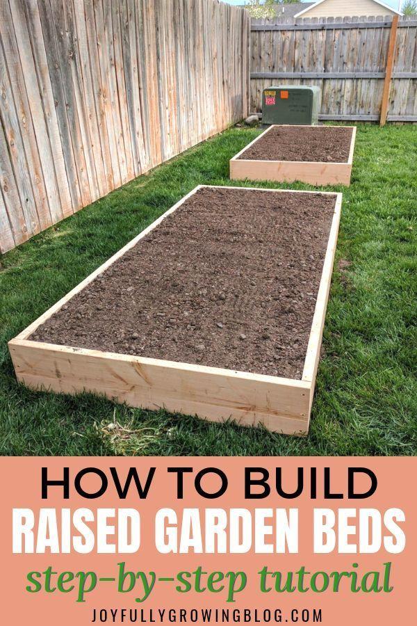 How To Build Raised Garden Beds An Easy Diy Design Building A Raised Garden Diy Raised Garden Raised Garden