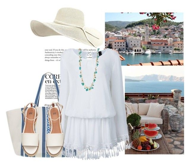 """""""#9"""" by hancicaf ❤ liked on Polyvore featuring Elina Lebessi and Chaps"""
