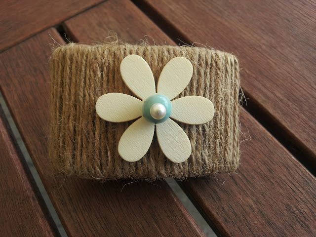 A Spoonful of Crafts: Rustic towel ring / Rustic Napkin Ring