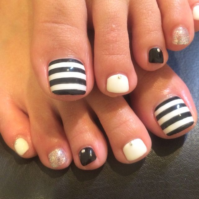 Easy Toe Nail Art Designs: 25+ Best Ideas About Easy Toe Nails On Pinterest