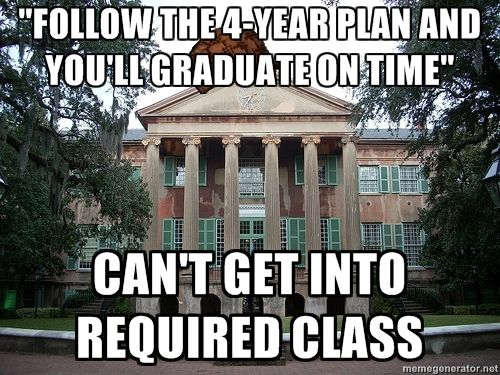 you really should open more classes, assholes.
