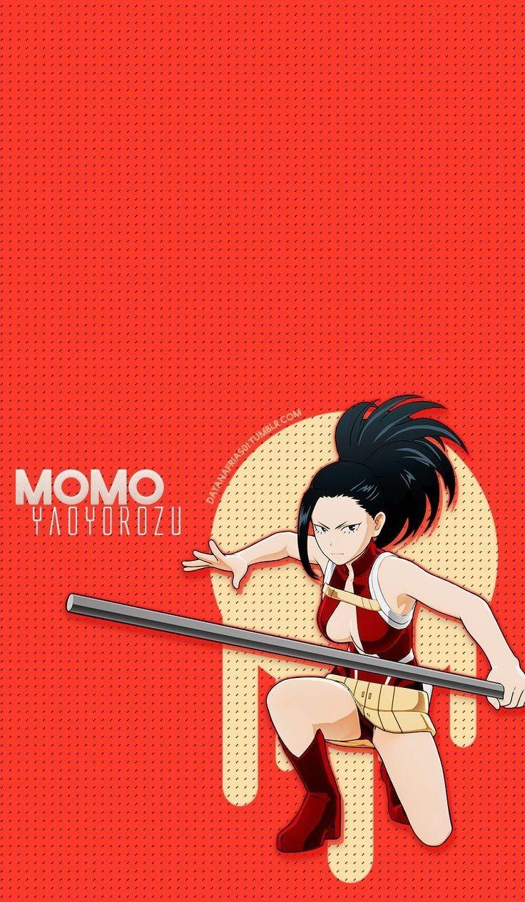 Wallpaper Momo Yaoyoruzu My Hero Academia Episodes Anime Hero