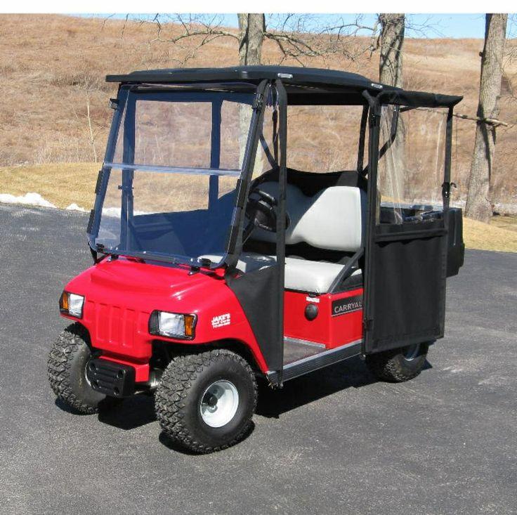 12 best images about golf cart enclosures on pinterest for Golf cart garage door prices
