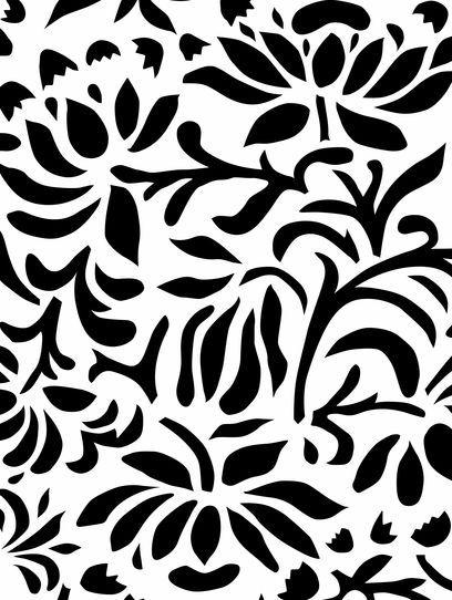 Chrysanthemum Stencil - Alabama Chanin (alabamachanin.com)
