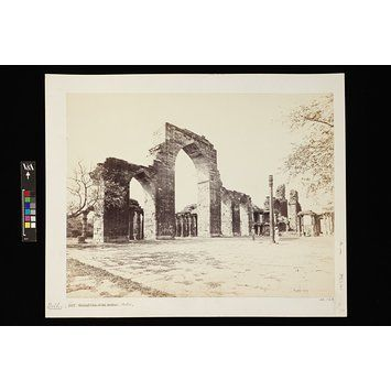 General View of the arches, Delhi | Bourne, Samuel | V&A Search the Collections