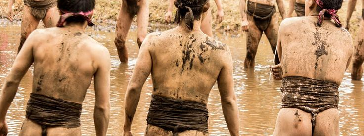 Many of Japan's more renowned cultural festivals involve grown men dressed in nothing more than loincloths (fundoshi in the local lingo) doing strange things to each other. In that respect, the Dairokuten-no-Hadaka Matsuri or Mud...
