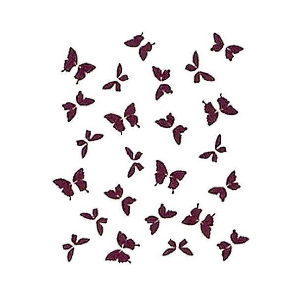 Plantilla para stencil mariposas 600 600 - Plantillas de mariposas ...
