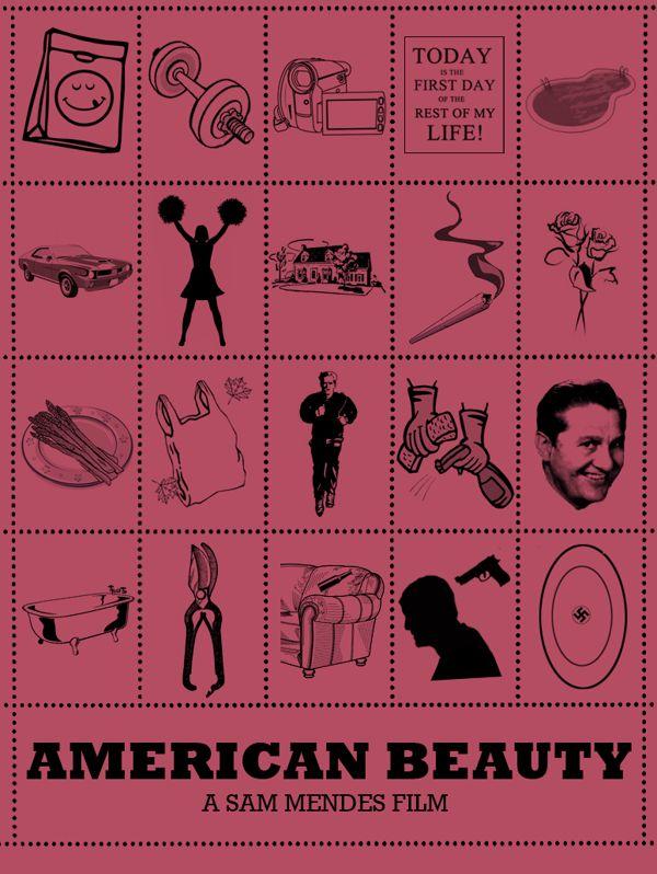 [JEU] Question pour un cinéphile - Page 2 F11ff64f1a1fae6567cec481d0a2ec50--american-beauty-poster-sam-mendes