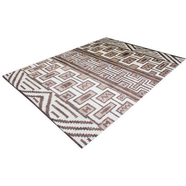 Hand Knotted Navajo Rug - 8′9″ × 10′9″ ($6,800) ❤ liked on Polyvore featuring home, rugs, contemporary handmade rugs, hand-knotted rug, hand knotted area rugs, hand knotted rugs, navajo style rugs and hand crafted rugs