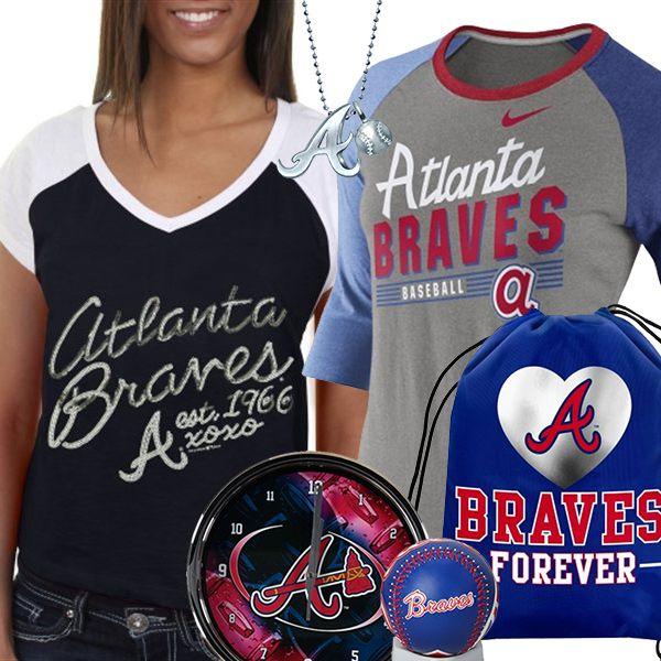 fan gear. atlanta braves fan gear