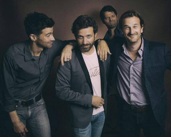 Matt Cohen (young John Winchester, Michael), Robert Benedict (Chuck Shurley), Richard Speight, Jr (Gabriel) and Misha Collins (Castiel).