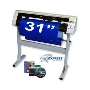 """Sign Warehouse Vinyl Express® Cutter 31"""" w/ VE LXi Apprentice Software for Sign Making Hobby Craft"""