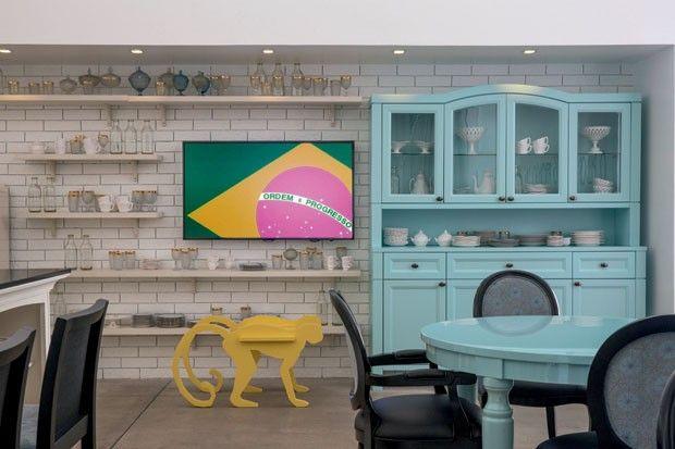 Projeto inusitado tem Brasil como tema Henrique Steyer abusa de cores e irreverência