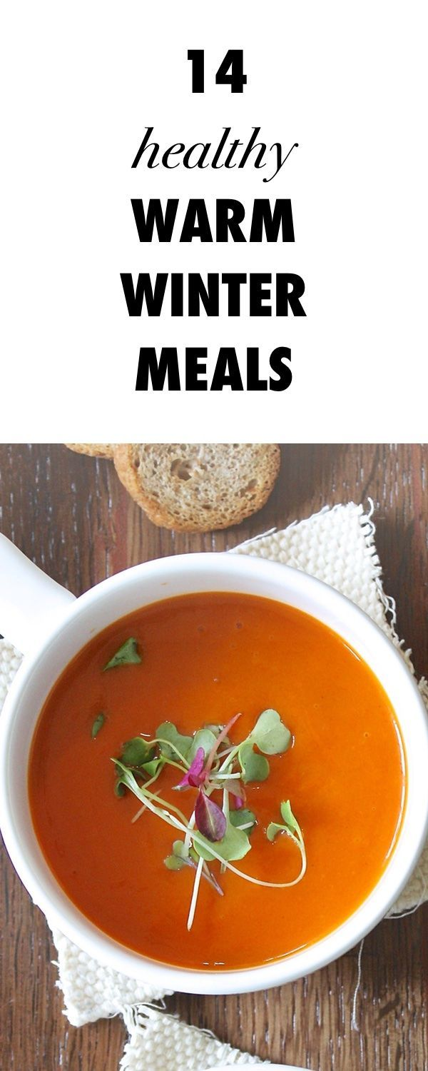 14 Healthy Winter Meals You Should Cook This Holiday Season