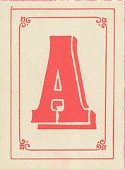 alphabet - substanto - 'A' for Alison