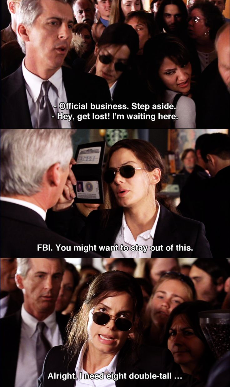 Official business ~ Miss Congeniality (2000) ~ Movie Quotes #amusementphile