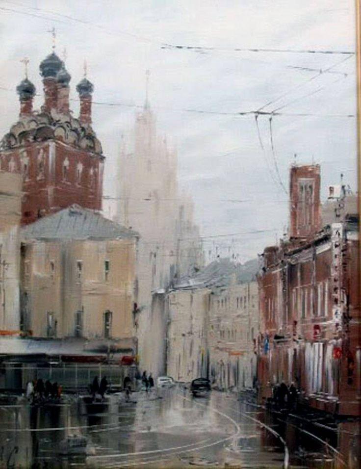 Алексей Стеняев. Акварели