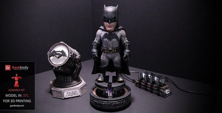 Batman+Kit+For+3D+Printing+Model)