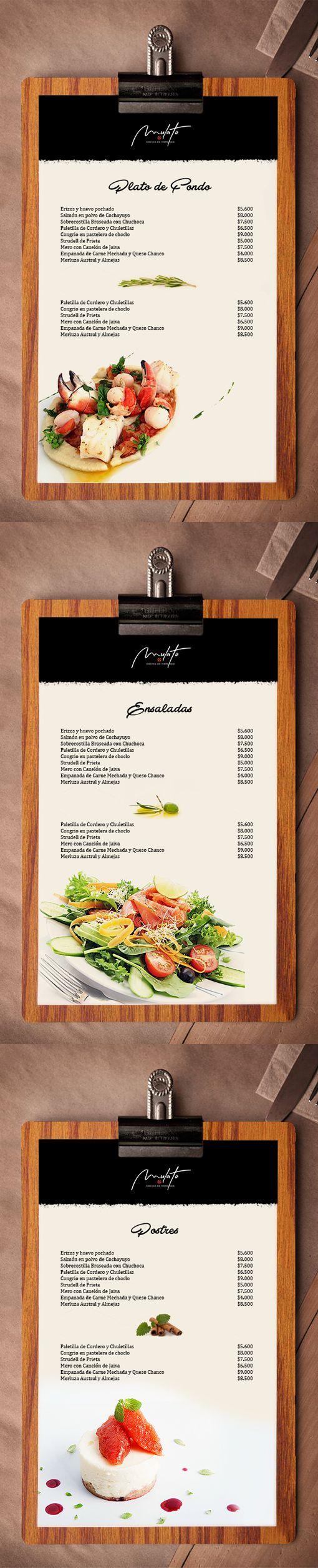 Mulatto propuest design for restaurant