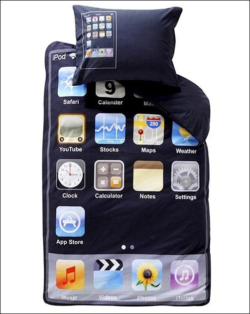 iPod Touch themed bedding come complete with duvet and pillow cases which  have a really unique and cool design. The Ipod Touch themed bedding is  perfect for ...