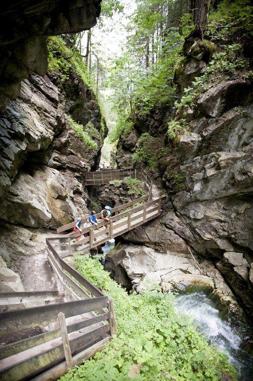 De Gilfenkloof in Stanghe/Stange - Alto Adige, Südtirol