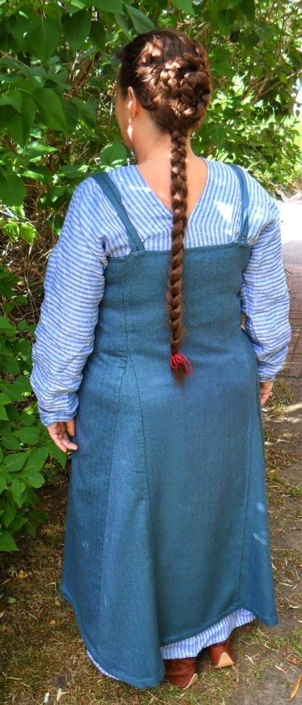 Made in 2014        This is my first viking dress for over a decade, and my old ones are too small and/or have been given away. Still I got ...