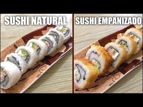 como hacer sushi frito. - YouTube