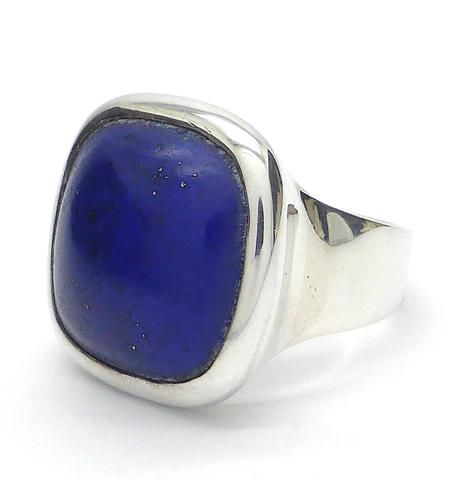 Ring Lapis Lazuli | Lovely Colour | 925 Sterling Silver| Unisex | Crystal Heart Melbourne Australia since 1986