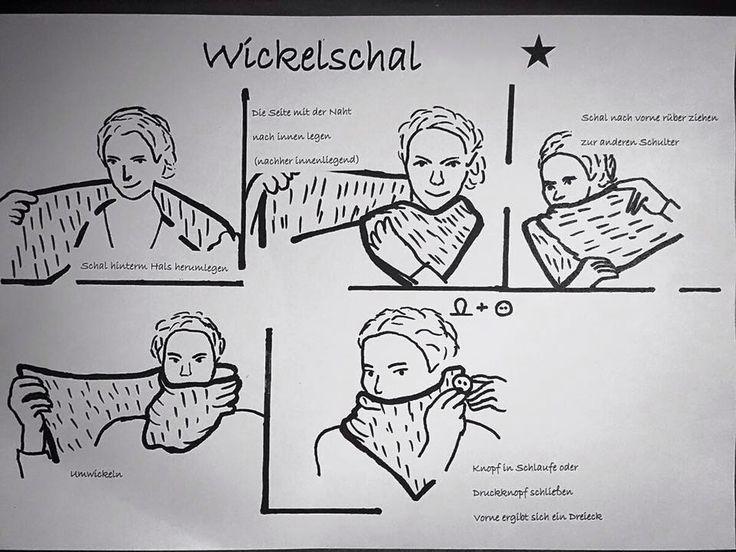 Beschreibung Wickelschal Lenipepunkt