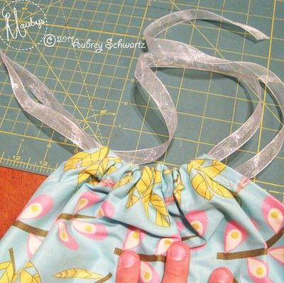 pillowcase dress tutorial - no bias tape required!