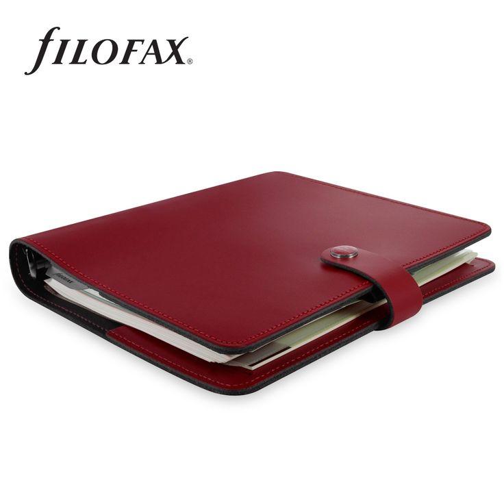Filofax gyűrűs kalendárium Original A5 Bordó   Filofax Gyűrűs Kalendáriumok