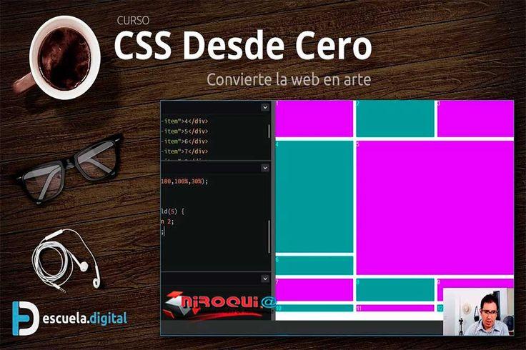 Descargar Curso CSS Desde Cero (2017) [Mega]