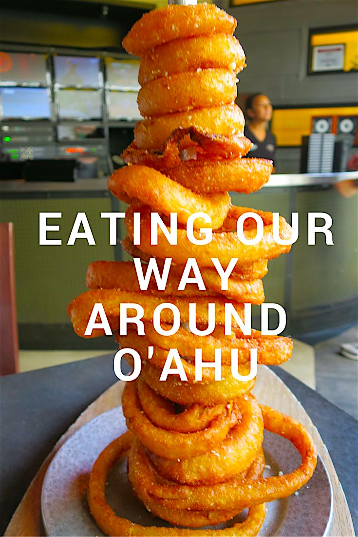 The top list of places we ate and drrank at when in O'ahu.  It's a great food city if you want to experience different cuisines.