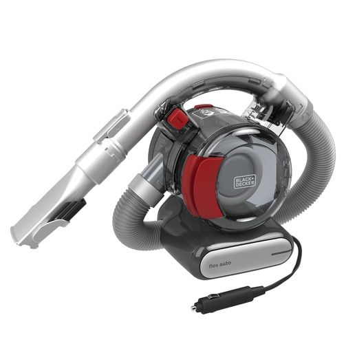 Black Decker Flex Vac 12 Volt Handheld Vacuum Lowes Com In 2020 Car Vacuum Car Vac Black Decker
